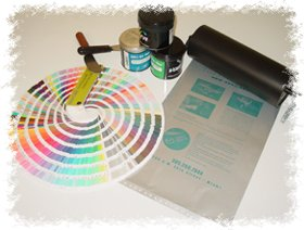 offset printing ink and pontone color book